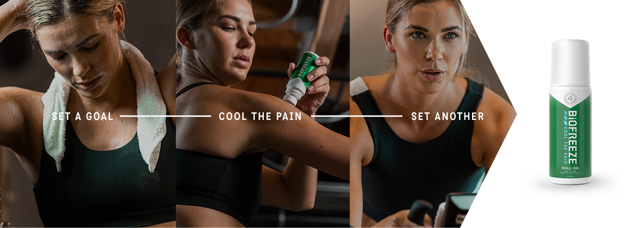 Push Harder, Cool the Pain, Keep Going - Biofreeze