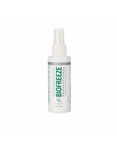 Biofreeze Professional Pain Relieving Pump Spray - 4 Ounce - Colourless Formula