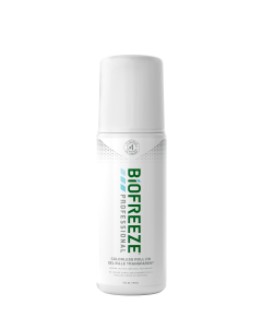 Biofreeze Professional Pain Relieving Roll-On - 3 Ounce - Colorless Formula - Bilingual Packaging